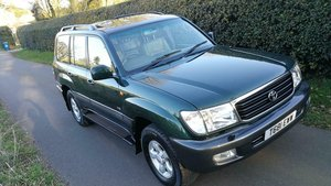 1999 Toyota Landcruiser 4.7V8 Amazon 7 Seater 119k FSH For Sale