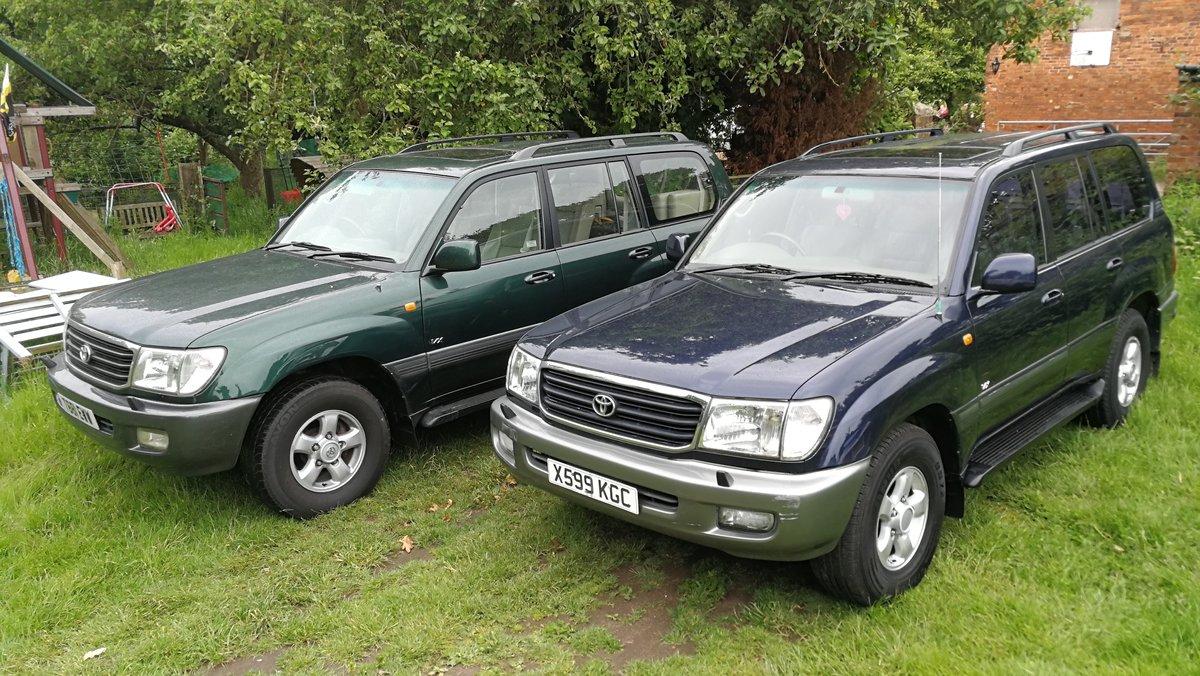 1999 Toyota Landcruiser 4.7V8 Amazon 7 Seater 119k FSH For Sale (picture 6 of 6)