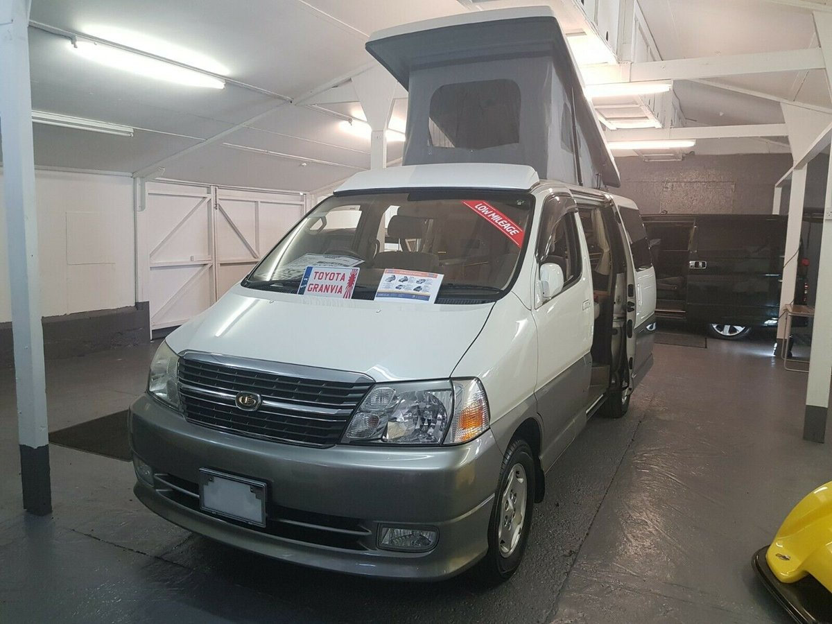 2001 Toyota Granvia, Very Low Mileage, 4B New Camper Conversion For Sale (picture 1 of 6)