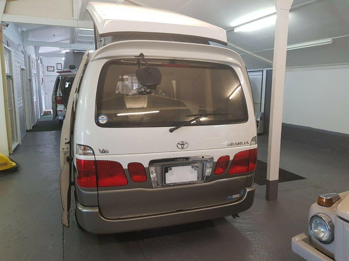 2001 Toyota Granvia, Very Low Mileage, 4B New Camper Conversion For Sale (picture 2 of 6)