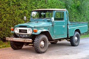 1976 Toyota Landcruiser FJ45 One-of-two UK reg original