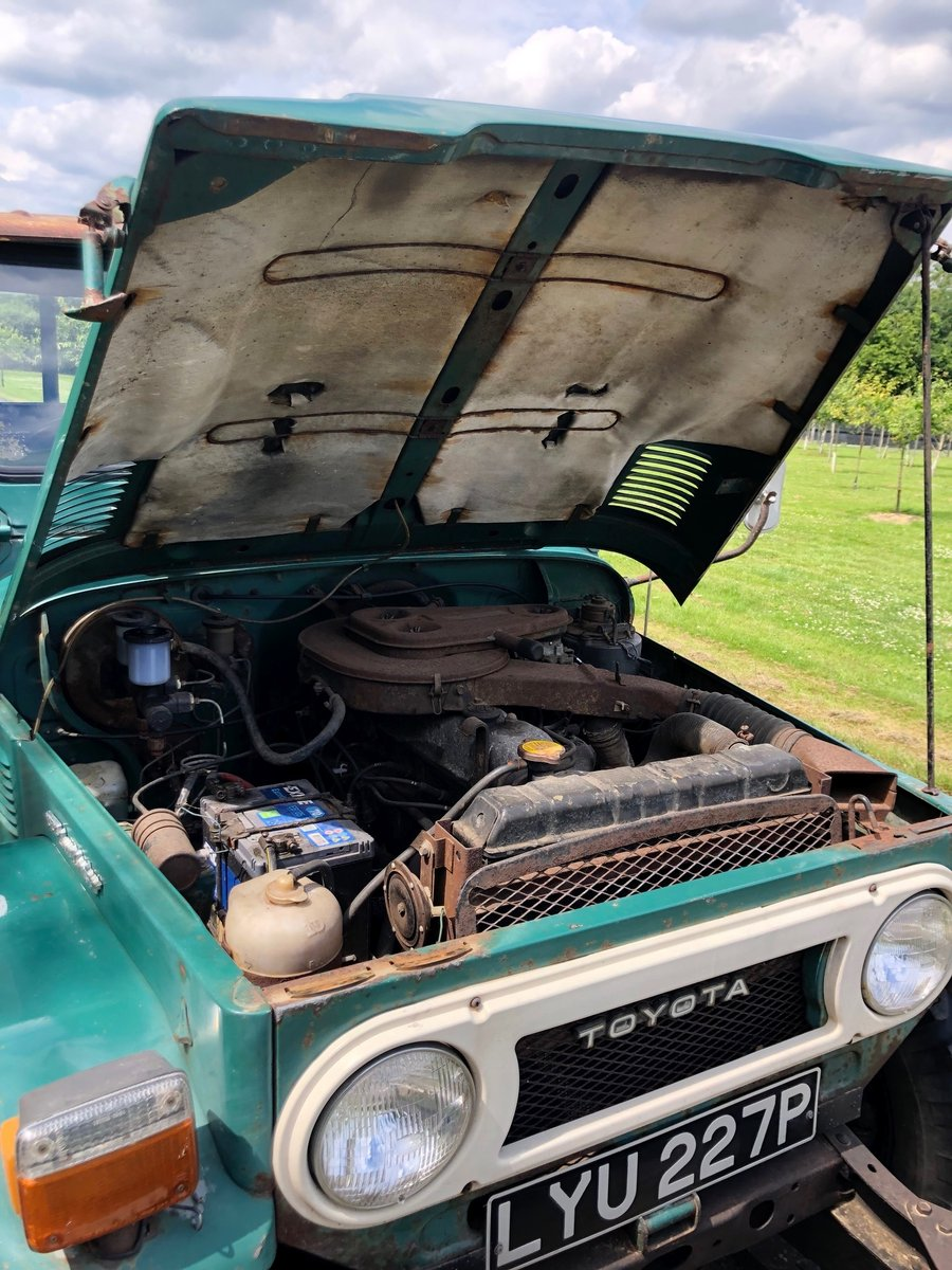 1976 Toyota Landcruiser FJ45 One-of-two UK reg original For Sale (picture 6 of 6)
