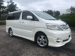2006 Fresh Import Toyota Alphard 2.4 V Edition 2WD 8 Seats For Sale