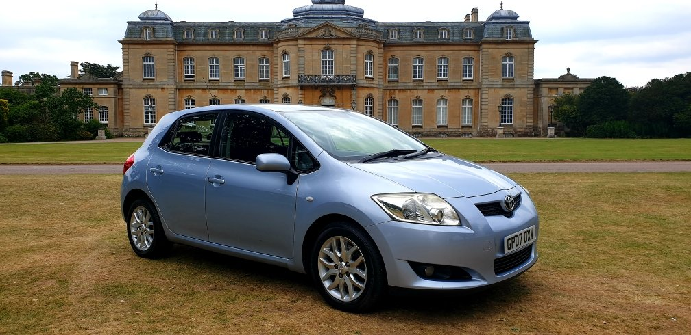 2007 TOYOTA AURIS T3 2.0 D-4D,DIESEL,MANUAL 6 GEARS For Sale (picture 1 of 6)