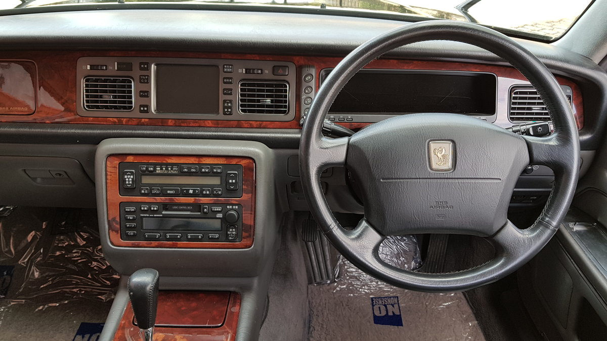 1997 TOYOTA CENTURY REDESIGNED 5.0 V12 * JAPANESE EQ MAYBACH  For Sale (picture 5 of 6)