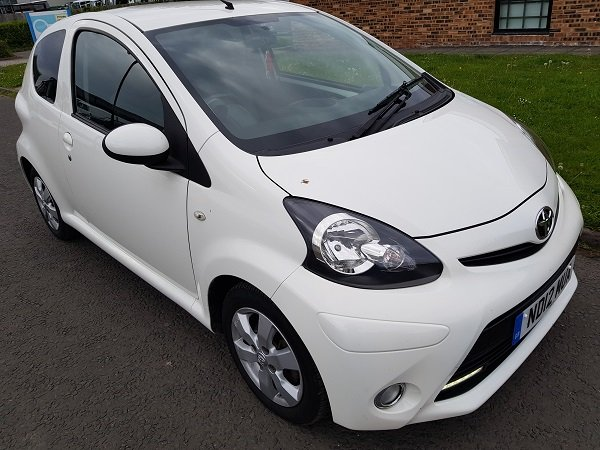 2012 TOYOTA AYGO 1.0 VVTI FIRE 3 DOOR HATCHBACK For Sale (picture 1 of 6)