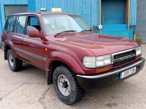 1992 Toyota Land Cruiser 4.2 TD VX For Sale by Auction