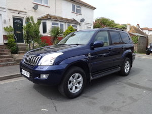 2007 TOYOTA LANDCRUISER  3.0 D-4D INVINCIBLE AUTO For Sale