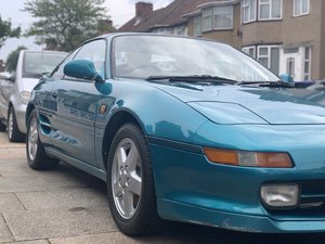 1992 Toyota MR2 Limited Edition Turquoise Pearl For Sale