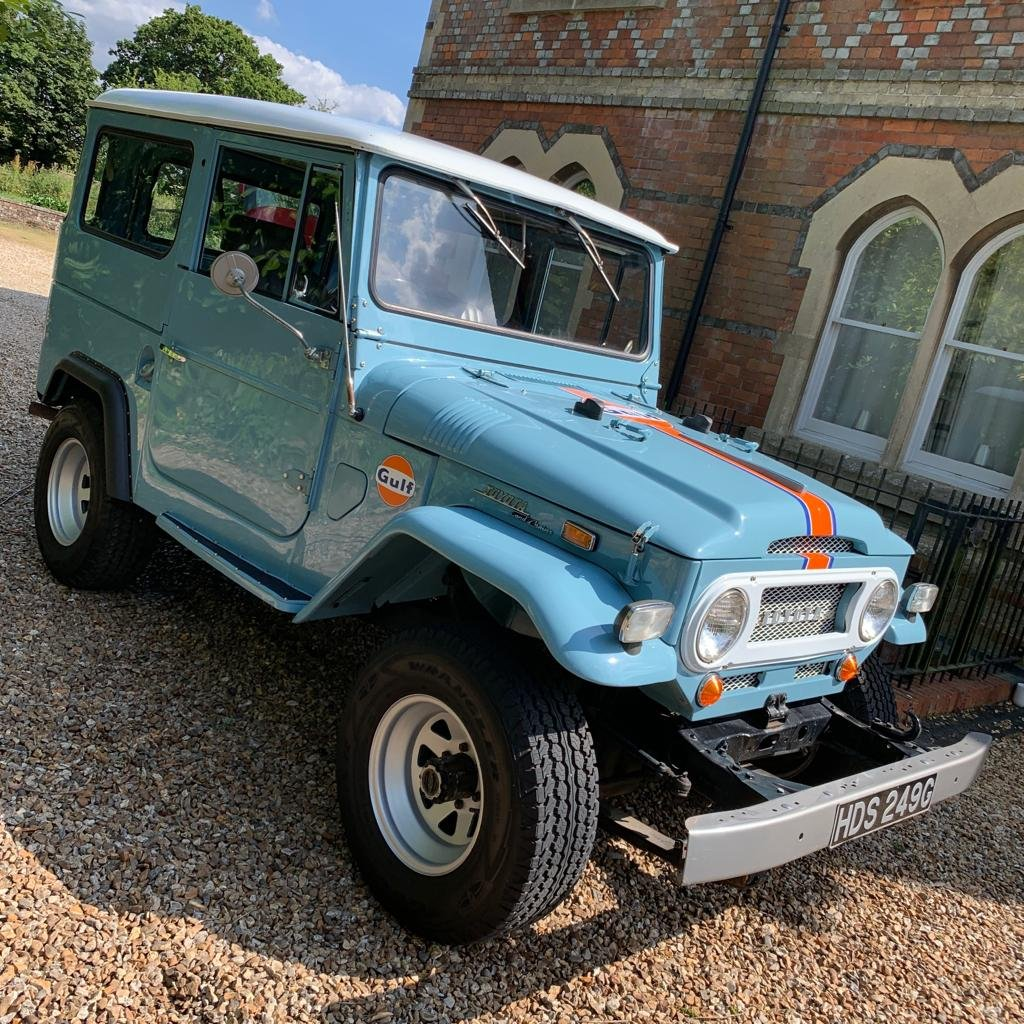 1969 Toyota Land Cruiser FJ40 3.9l Petrol For Sale (picture 1 of 6)