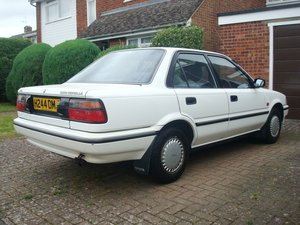 1990 Toyota Corolla 1.3 GL 40,200 Miles 1 Owner Manual