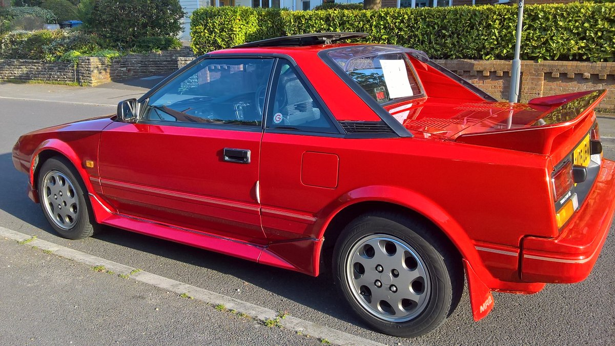 1987 Toyota mr2 mark 1 SOLD (picture 2 of 5)