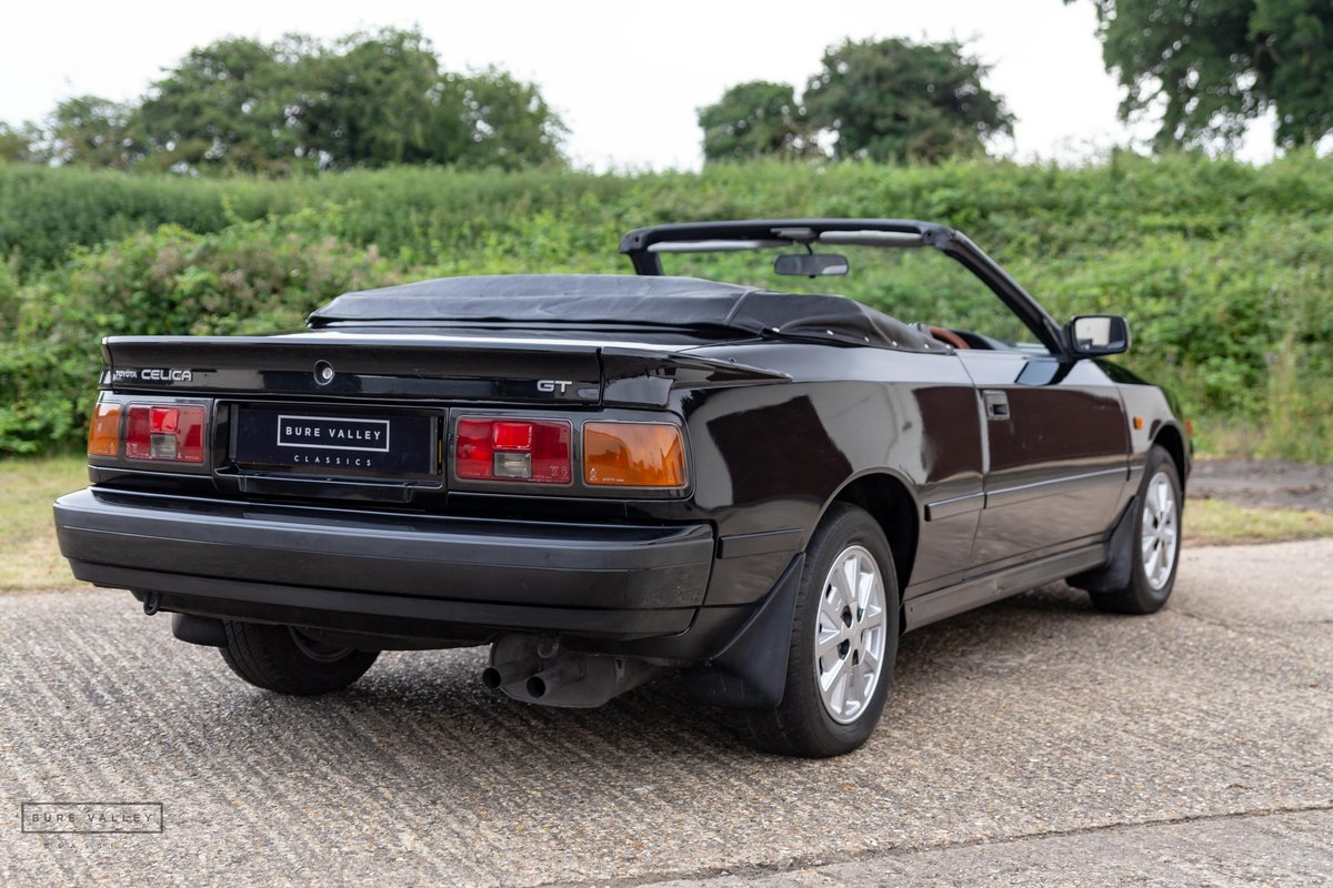 1987 Toyota Celica GT Convertible For Sale (picture 3 of 6)