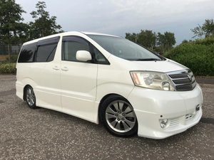 2005 Fresh import Toyota Alphard 3.0 L V6 4WD 8 Seats For Sale