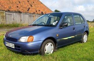 1996 Toyota Starlet 1.3CD Auto 5 door-26k, FSH