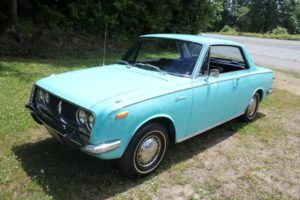 1968 Toyota Corona Coupe = low 65k miles Auto Blue $10.9k