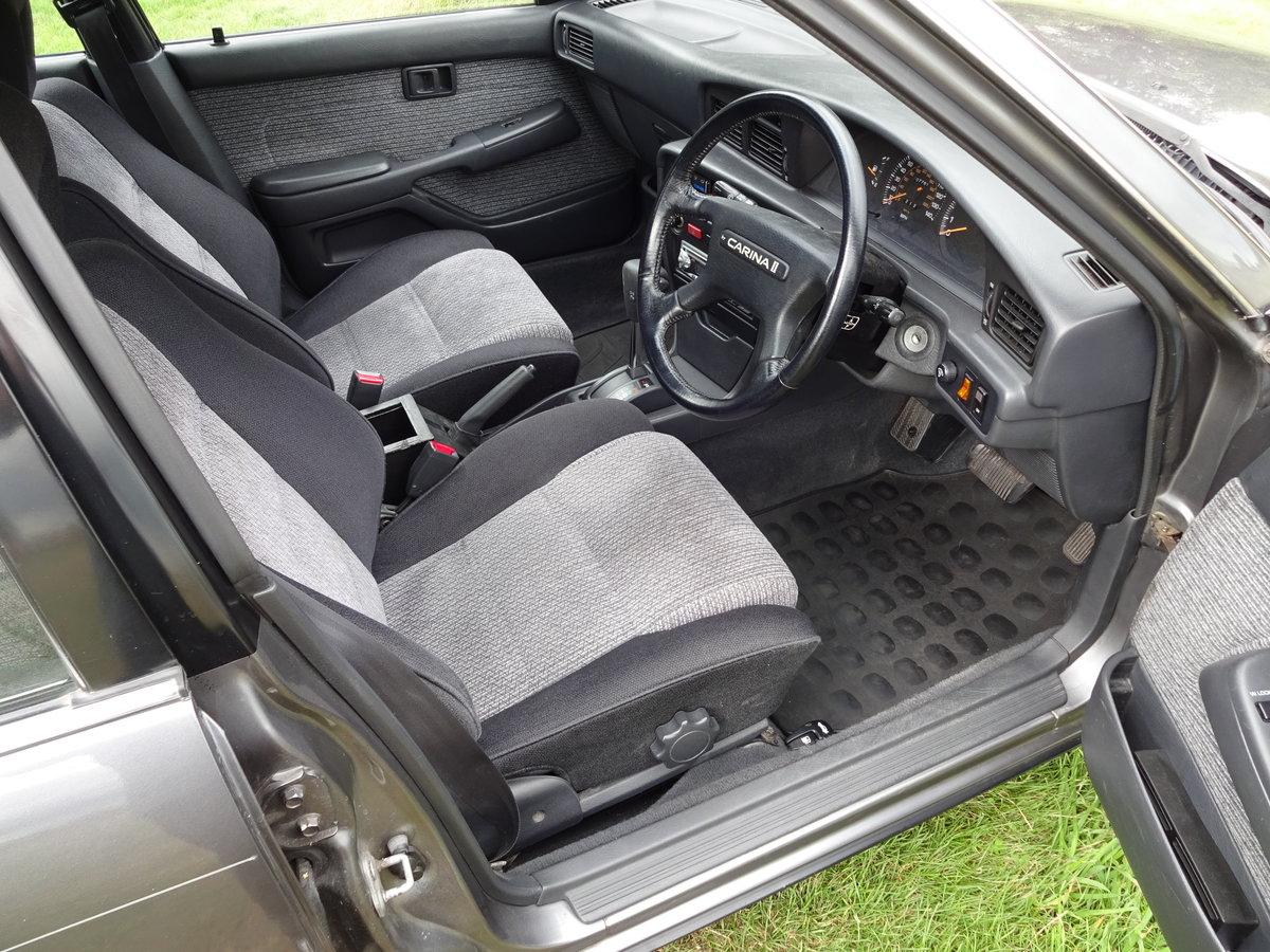 1989 Toyota Carina 11 2.0 GLi Executive SOLD (picture 4 of 6)