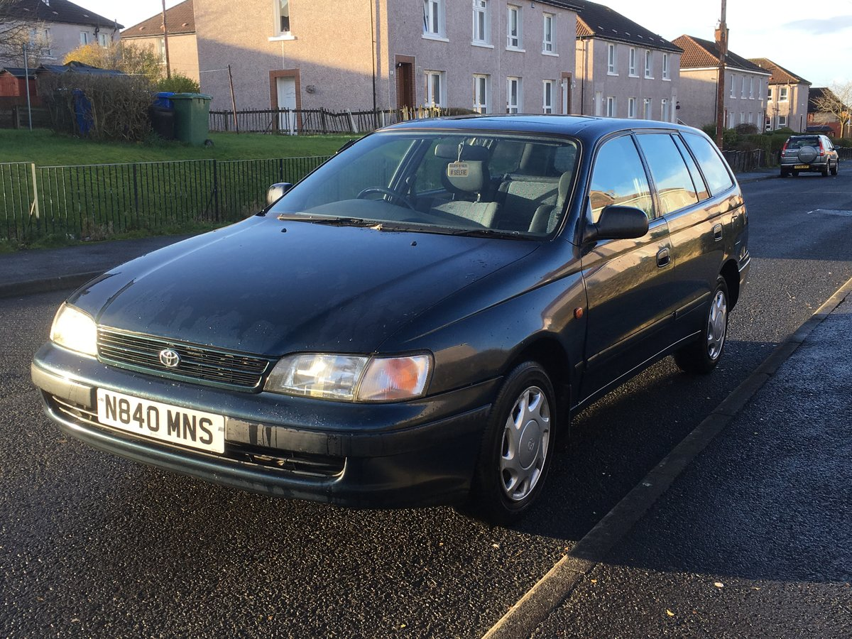 1996 Toyota Carina E 1.6 GS Estate SOLD (picture 1 of 6)
