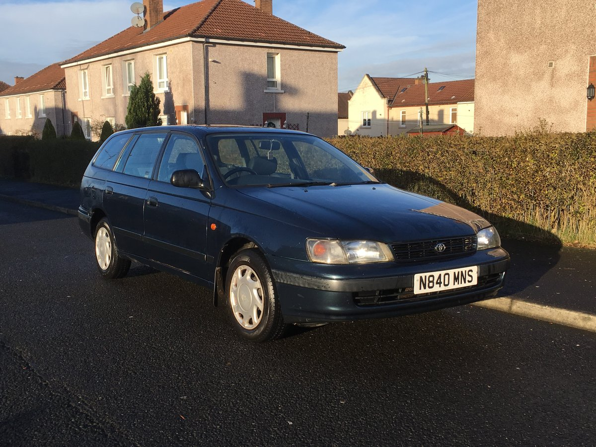 1996 Toyota Carina E 1.6 GS Estate SOLD (picture 2 of 6)