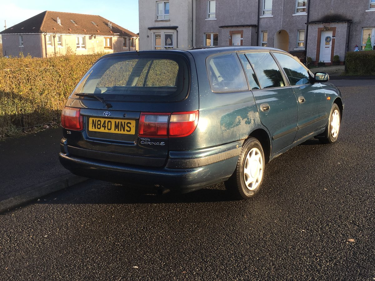 1996 Toyota Carina E 1.6 GS Estate SOLD (picture 4 of 6)