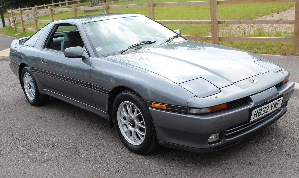 1991 Toyota Supra 3.0 Litre Coupe  Automatic With Overdrive  SOLD (picture 1 of 6)