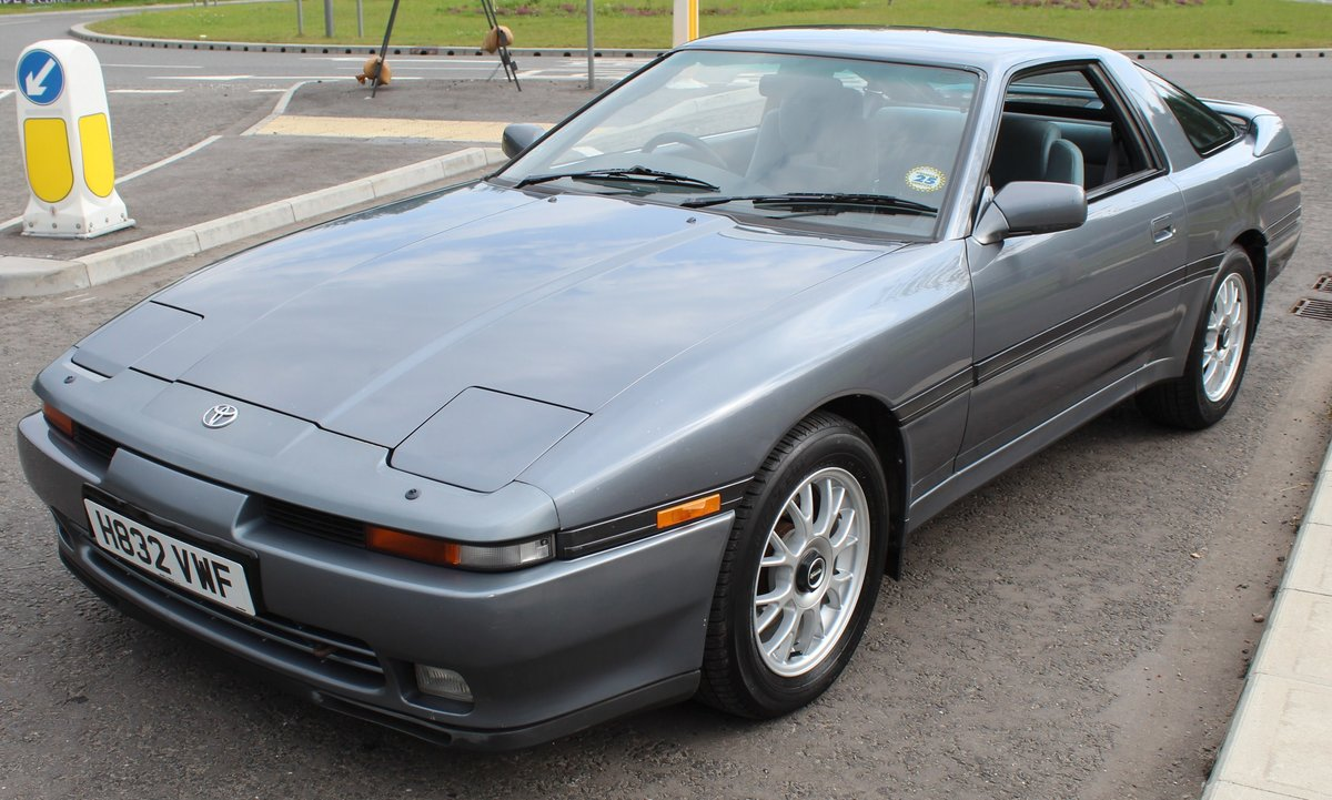 1991 Toyota Supra 3.0 Litre Coupe  Automatic With Overdrive  SOLD (picture 2 of 6)