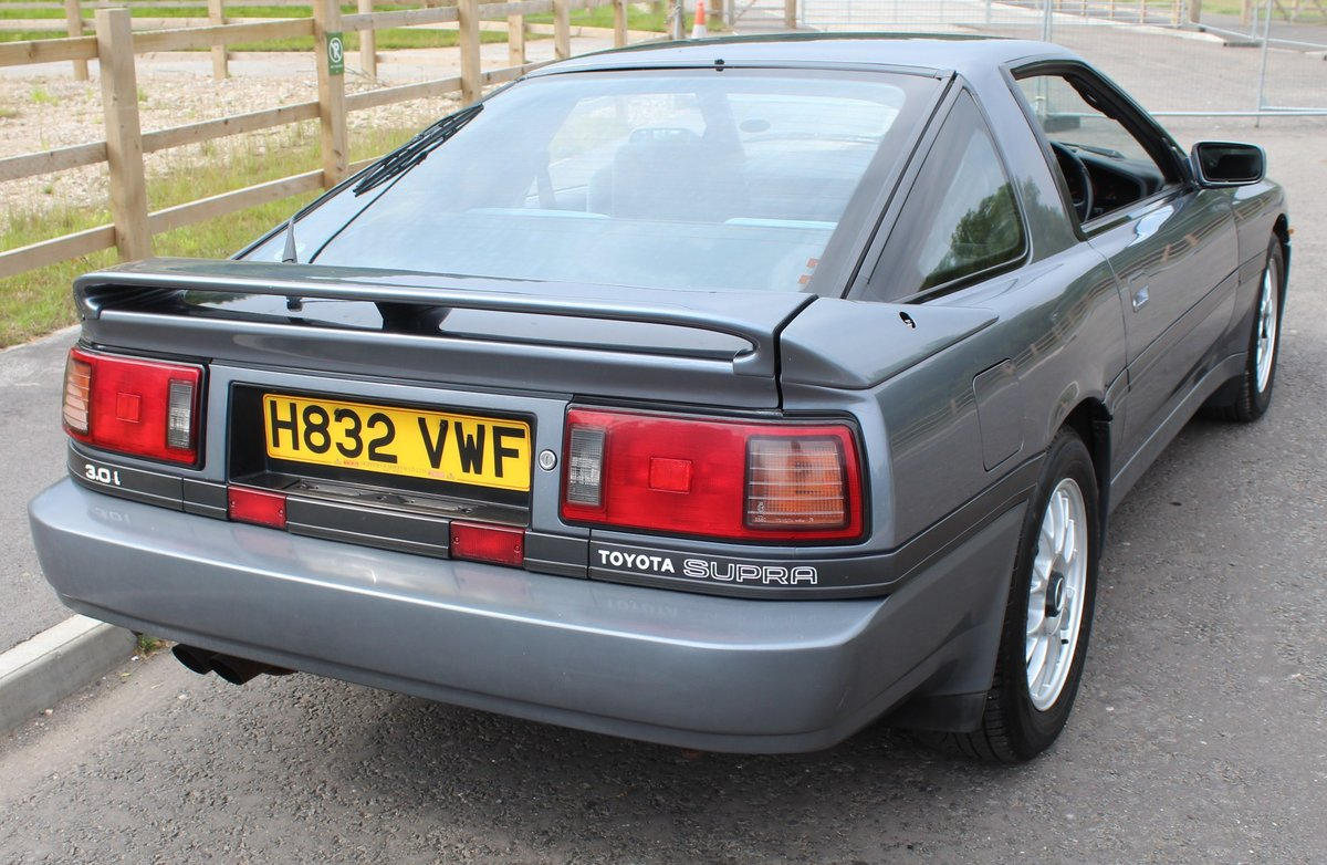 1991 Toyota Supra 3.0 Litre Coupe  Automatic With Overdrive  SOLD (picture 3 of 6)