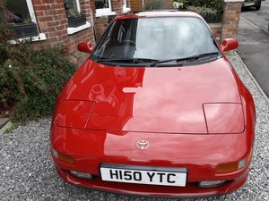 1990 MR2 Low mileage, 11 months' MOT, beautiful condit For Sale