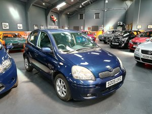 2005 TOYOTA YARIS 1.3 COLOUR COLLECTION VVT-I 5d 86 BHP For Sale