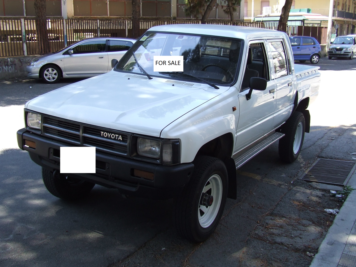 1988 Toyota HILUX For Sale (picture 1 of 5)