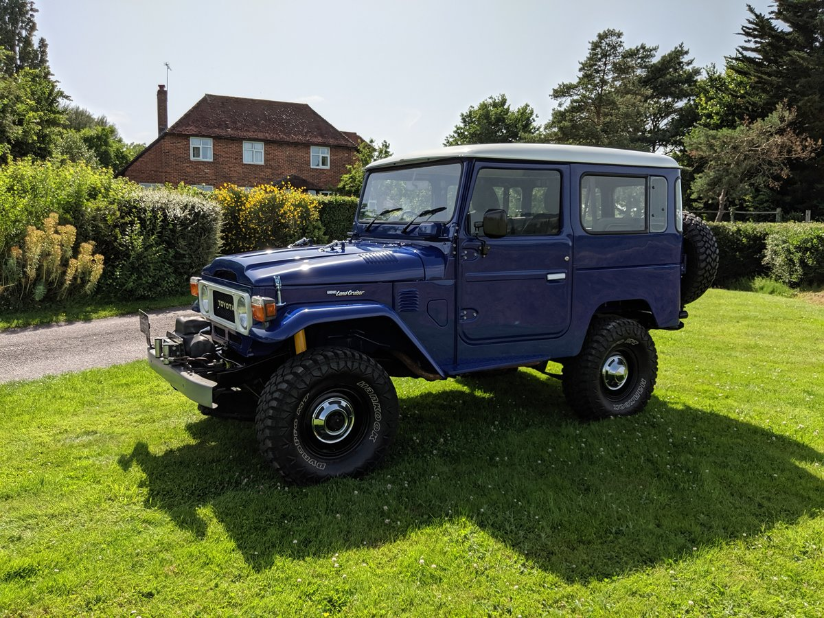 1981 RHD Japanese factory Toyota FJ40 Landcruiser For Sale (picture 1 of 6)