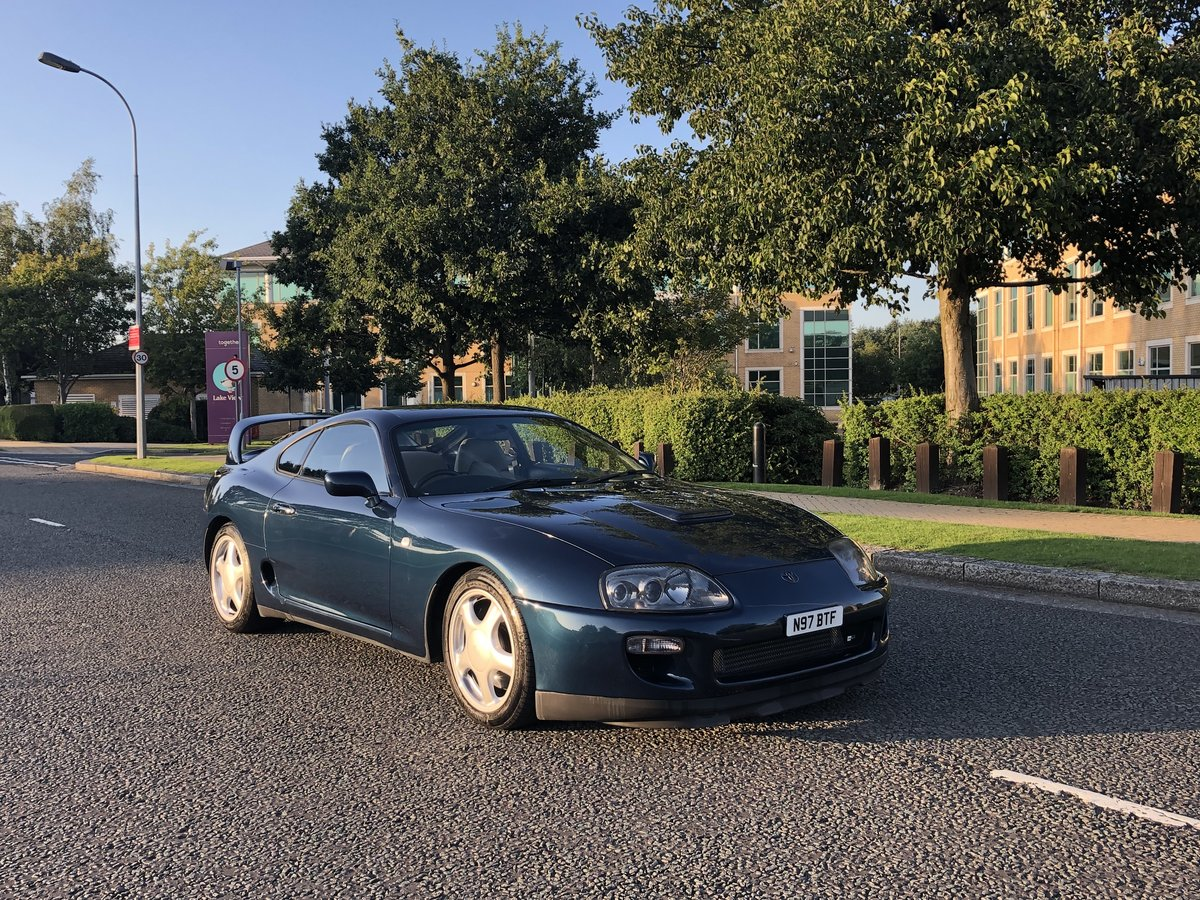 1996 Supra Twin Turbo Storm Blue UK Spec 6 Speed Manual For Sale (picture 1 of 6)