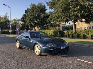 1996 Supra Twin Turbo Storm Blue UK Spec 6 Speed Manual