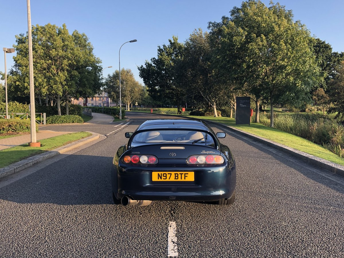1996 Supra Twin Turbo Storm Blue UK Spec 6 Speed Manual For Sale (picture 3 of 6)