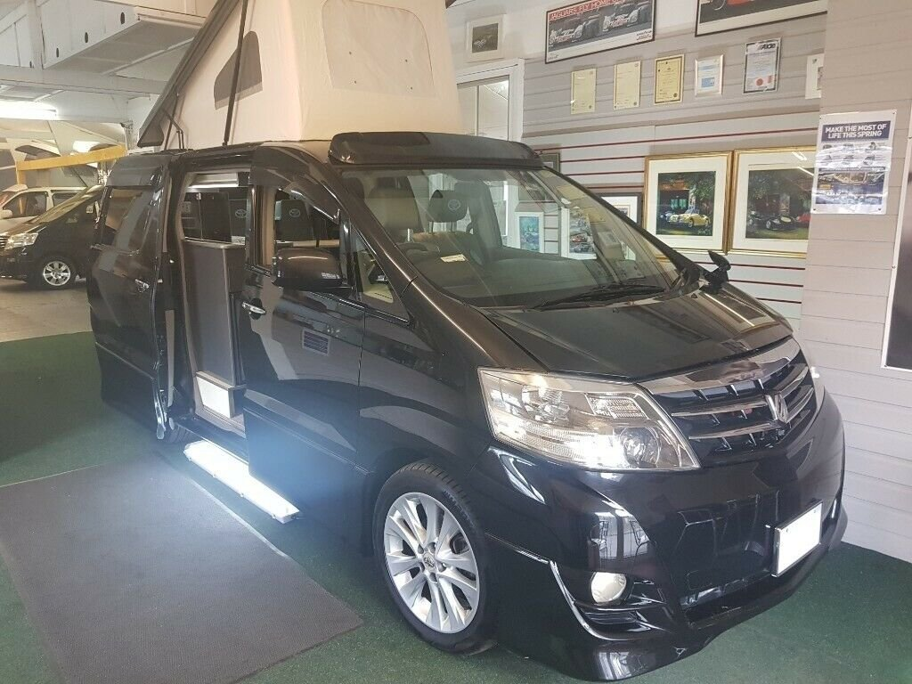 Toyota Alphard - 2006 - 4 Berth Conversion For Sale (picture 1 of 6)