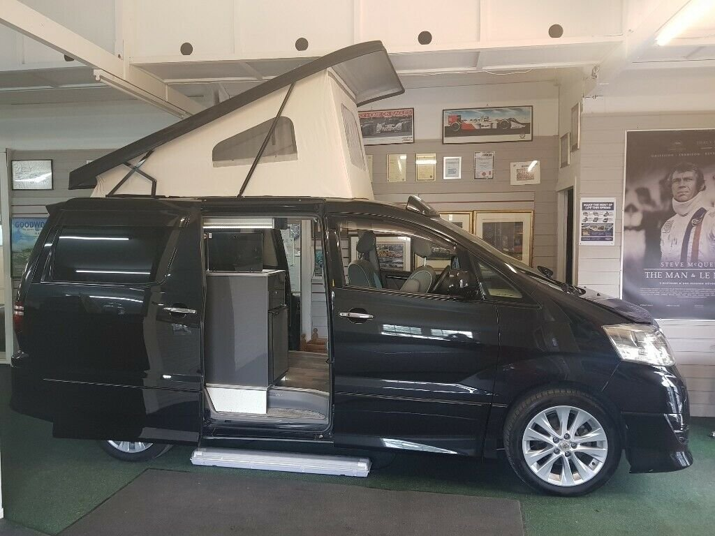 Toyota Alphard - 2006 - 4 Berth Conversion For Sale (picture 2 of 6)