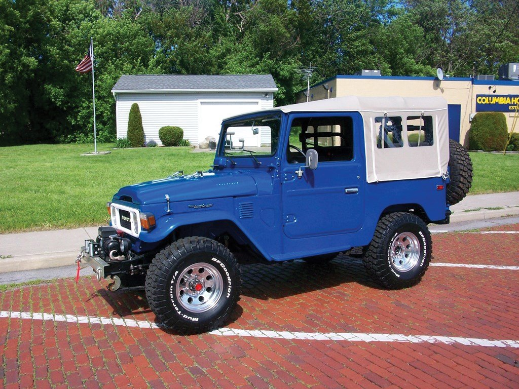 1980 Toyota Land Cruiser FJ  For Sale by Auction (picture 1 of 6)