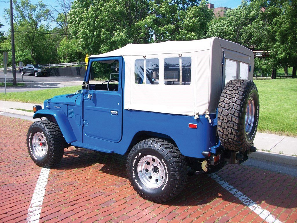 1980 Toyota Land Cruiser FJ  For Sale by Auction (picture 2 of 6)
