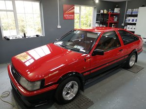 1985 Toyota Corolla gt coupe twincam ae86