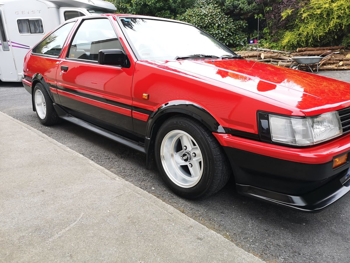 1985 Toyota Corolla gt coupe twincam ae86 For Sale (picture 2 of 6)