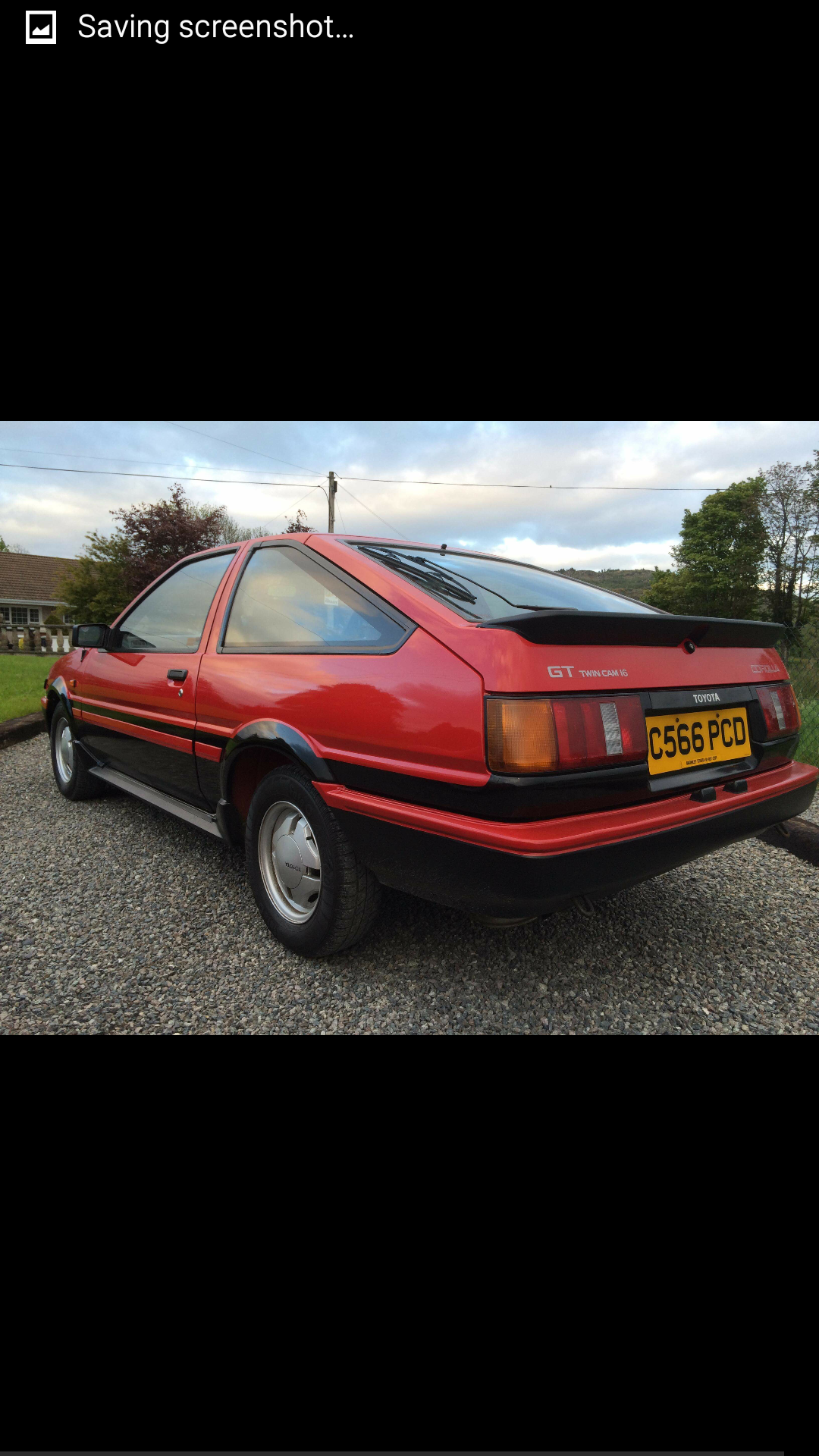 1985 Toyota Corolla gt coupe twincam ae86 For Sale (picture 5 of 6)