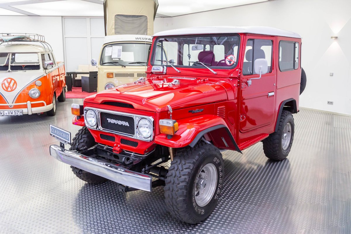1981 Toyota Land Cruiser FJ40 For Sale (picture 1 of 6)