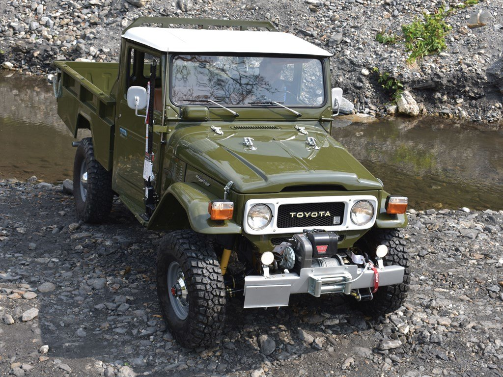1983 Toyota FJ45 Land Cruiser  For Sale by Auction (picture 1 of 6)