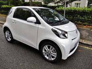 2014 TOYOTA iQ3 1.33, AUTOMATIC, WHITE, CLIMATE AC 8030m FSH !!! For Sale