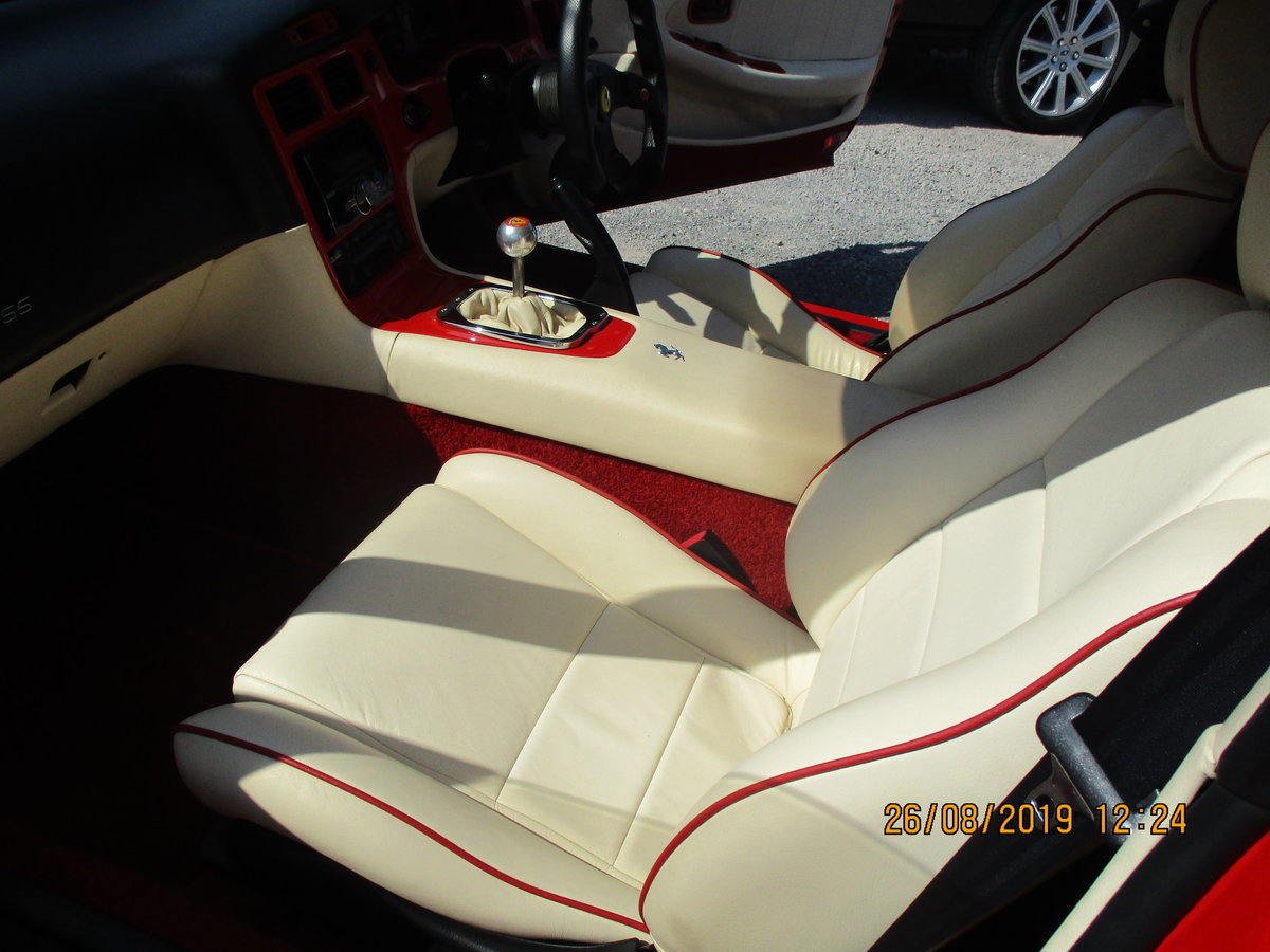 1999 IMPRESSIVE WELL BUILT KIT CAR MX2  F355 LOOK ALIKE IN RED  For Sale (picture 4 of 6)