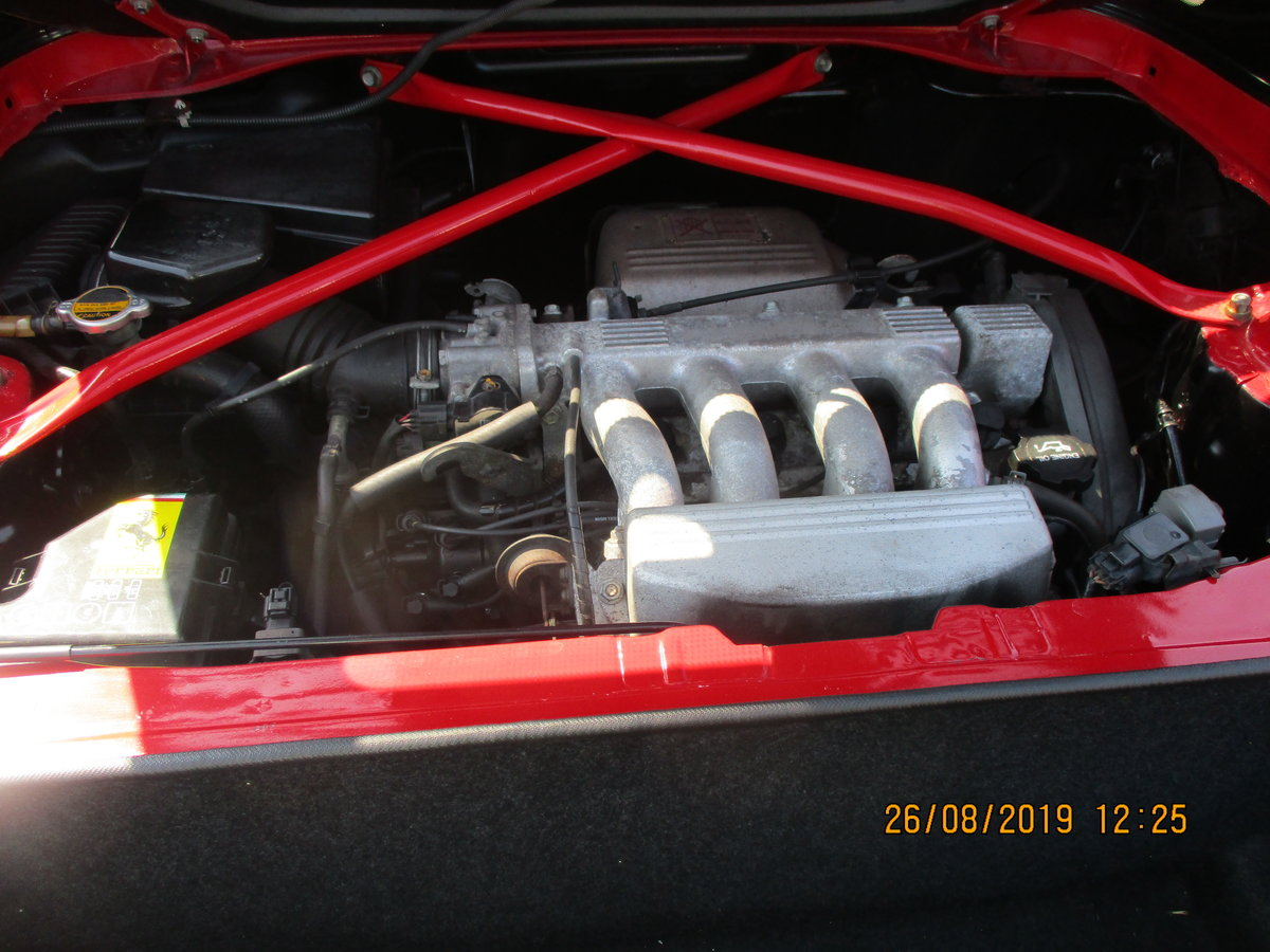 1999 IMPRESSIVE WELL BUILT KIT CAR MX2  F355 LOOK ALIKE IN RED  For Sale (picture 5 of 6)