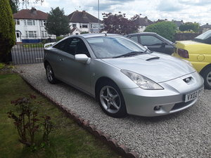 2002 Toyota celica 1800cc vvti  For Sale