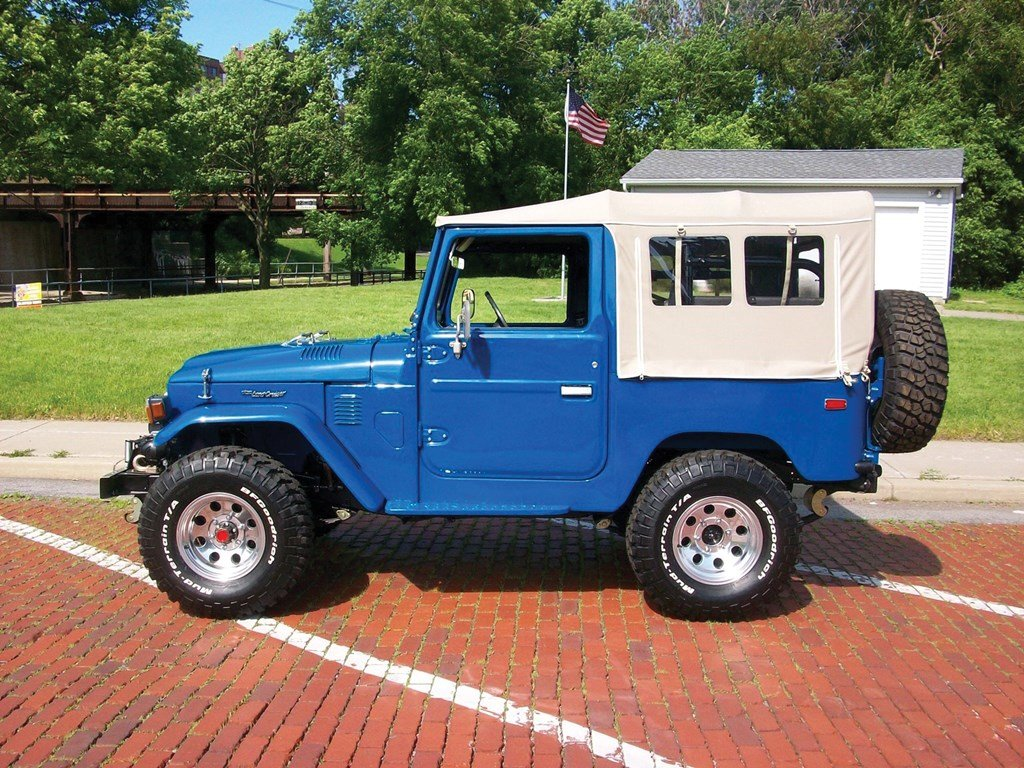 1980 Toyota FJ40 Land Cruiser  For Sale by Auction (picture 5 of 6)