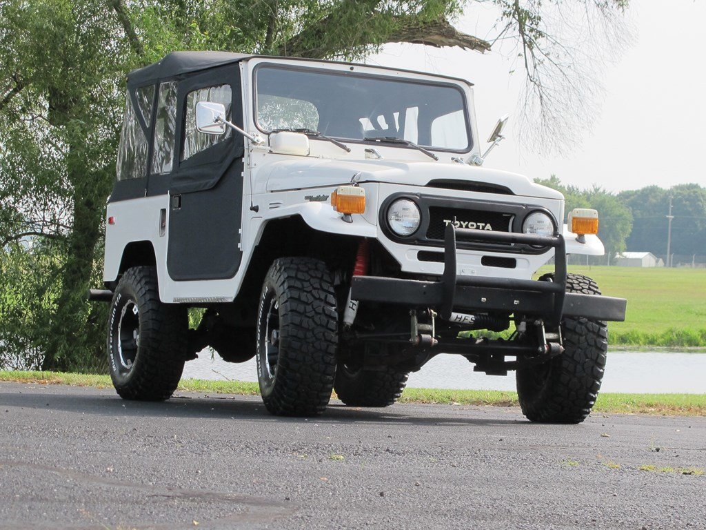 1978 Toyota Land Cruiser  For Sale by Auction (picture 1 of 6)