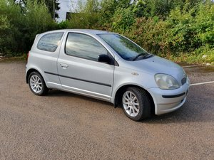 2001 Toyota Yaris  SR 1.3 vvti For Sale
